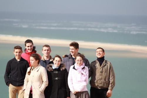 WE d'équipe à la dune du Pyla (Equipe St François - Avril 2017)