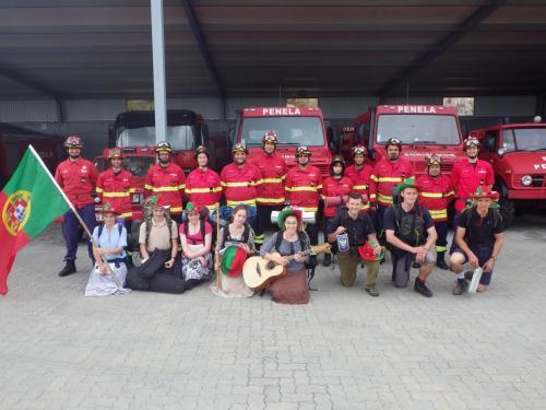 Bombeiros = amigos (Equipe St François Portugal 2015)