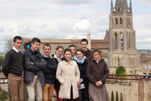 WE d'équipe : visite de St Emilion (Equipe St François - Avril 2017)